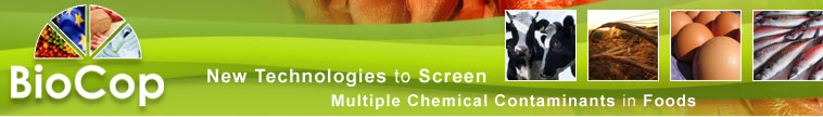 BioCop - New Technologies to Screen Multiple Contaminants in Foods